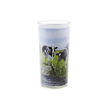 "Wiebe Van der Zee - Glass Cup ""New Neighbours"""
