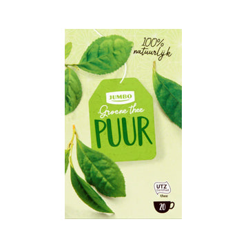 Jumbo Green Tea Pure - (20x1.5gr.)