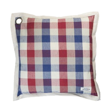 Boerenbont Pillow Cover - Red/Blue Checkers (50x50cm)