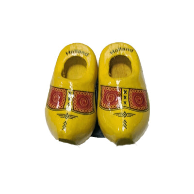 Magnet - Pair Wooden Shoes (Farmer) 4cm.