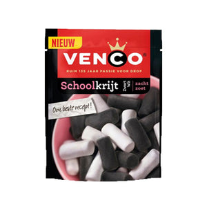 Venco Schoolkrijt (Chalk - Black & White) - 255gr.