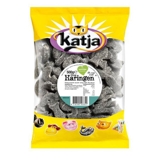 Katja Herring Licorice - 500gr.
