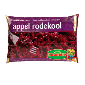 Krautboy Red Cabbage with Apple Bag - 500g.