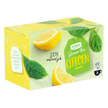 Jumbo Green Tea with Lemon - (20x 2gr.)