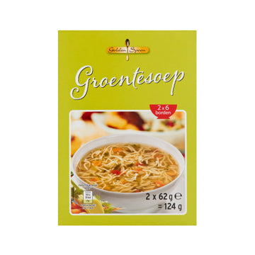Golden Spoon Vegetable Soup - 124g.