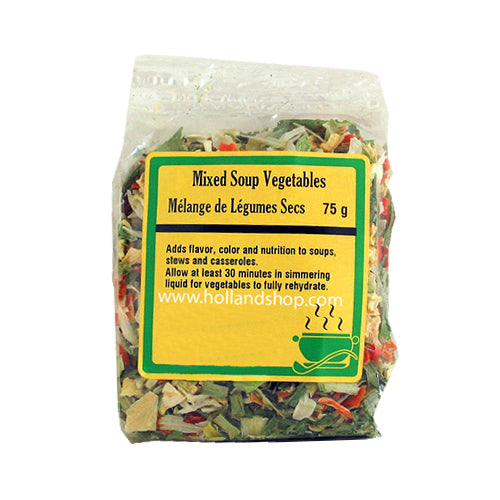 Dried Mixed Soup Vegetables - 100gr.