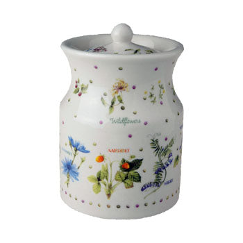 "Marjolein Bastin - Storage Jar ""Wildflowers"""