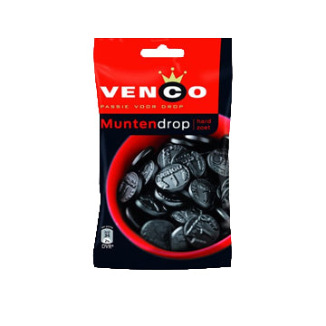 Venco Coin Licorice - 144gr.