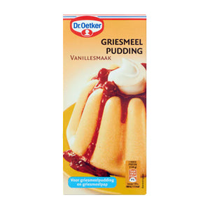 Oetker Gries Vanilla Pudding Mix - 500gr.