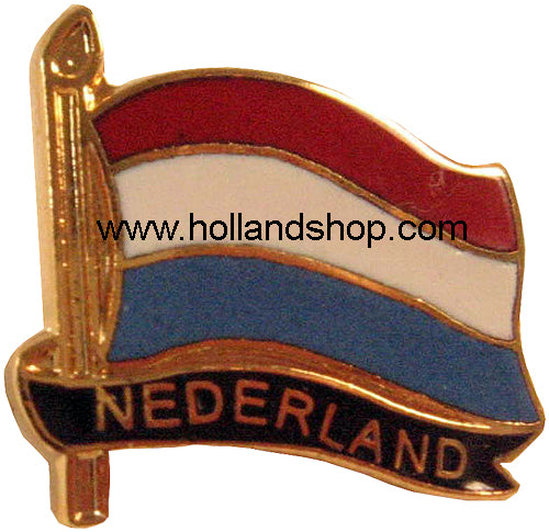 Pin - Netherlands Flag
