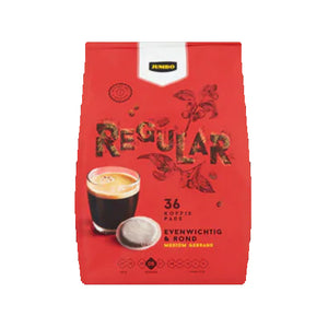 Jumbo Regular Roast - 36 Pads - 250gr.