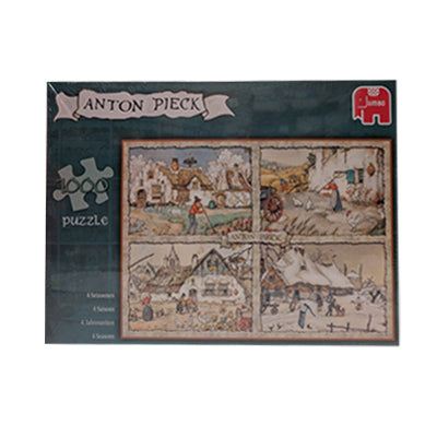 Puzzle - Jumbo Anton Pieck Four Seasons (1000pcs)