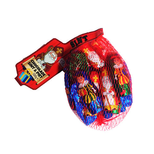 ABS Chocolate Sint & Piet - 100g.