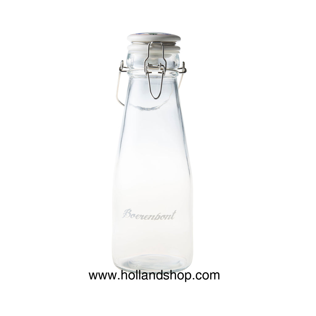 Boerenbont Glass - Bottle with Clip Lid (0.7L)