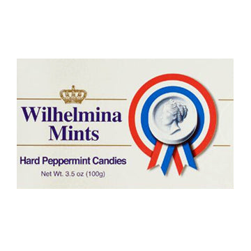 Wilhelmina Peppermint Box - 100gr.