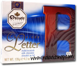 Droste Chocolate Letter 'B' Milk - 135gr.