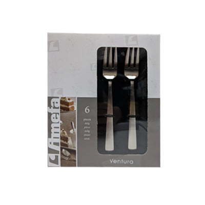 Cake Forks - Amefa Ventura #1924 (Set of 6)