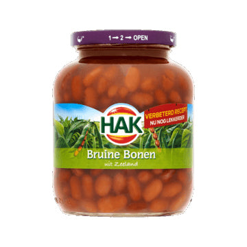 Hak Brown Beans - 710gr