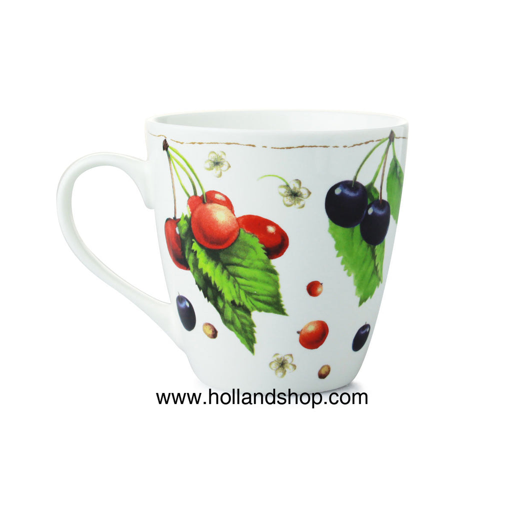 "Mug - Marjolein Bastin ""Nature"" - Cherry in Gift Box"