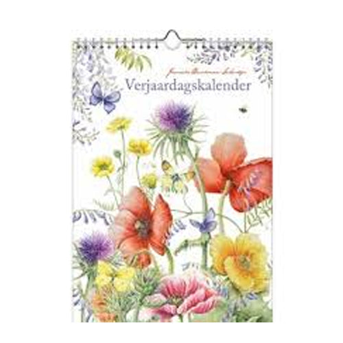 Birthday Calendar - Janneke Brinkman (Art Field Flowers)
