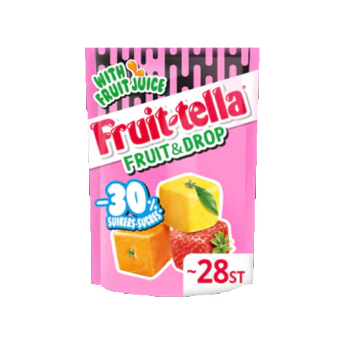 Fruitella Drop/Fruit Candies Less Sugar - 120g.