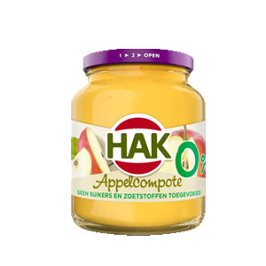 Hak Apple Compote - Light - 350gr.