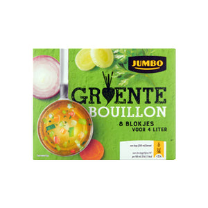Jumbo Vegetable Bouillon Cubes (8) - 80gr.