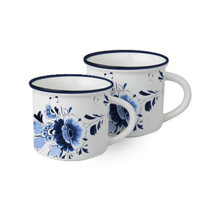 Dutch Floral - Mugs (33CL) Set of 2
