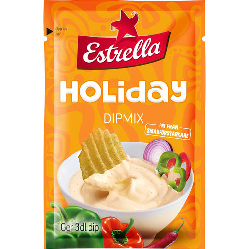Estrella Holiday Dipmix - Onion & Peppar Dip Mix 26g