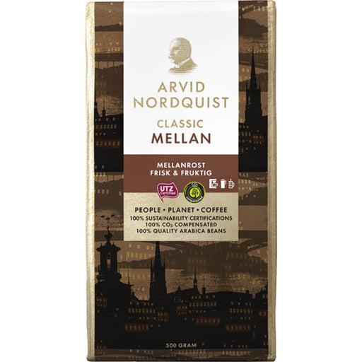 Arvid Nordquist Classic Mellanrost - Medium Roasted Coffee 500g