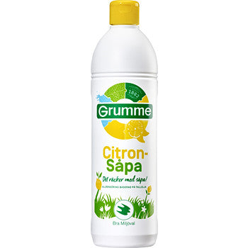 Grumme Citronsåpa - Lemon All-purpose Cleaning Soap
