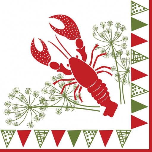 Dinner Napkin Crayfish Party