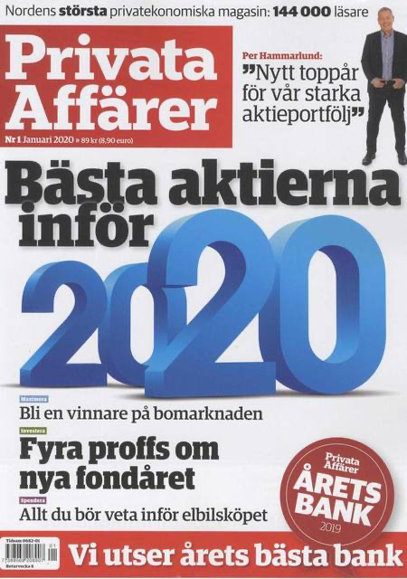 Privata Affärer - Nummer 12 - Swedish Magazine