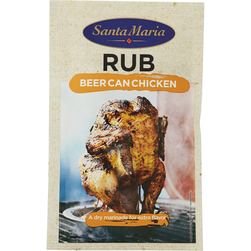 Santa Maria RUB Beer Can Chicken - 30g