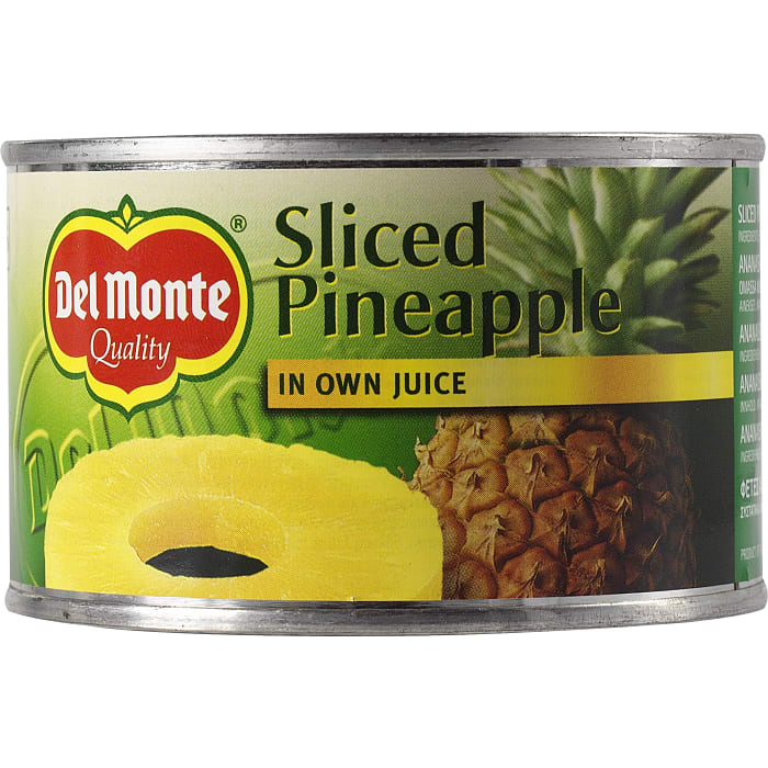 Del Monte Sliced Pineapple 220g