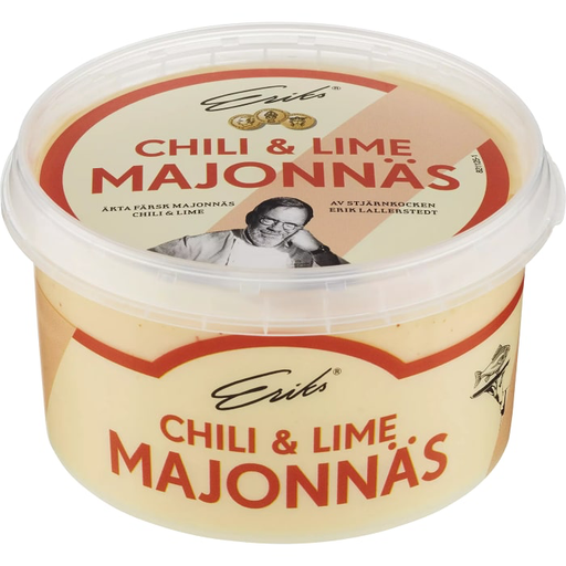 Eriks Chili & Lime Majonäs - Chili & Lime Mayonnaise - 230ml