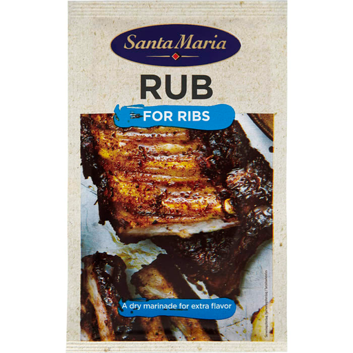 Santa Maria RUB for RIBS - 30g