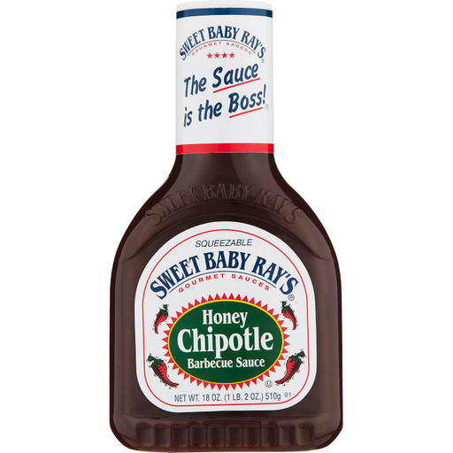 Sweet Baby Rays - Honey & Chipotle BBQ Sauce 510g