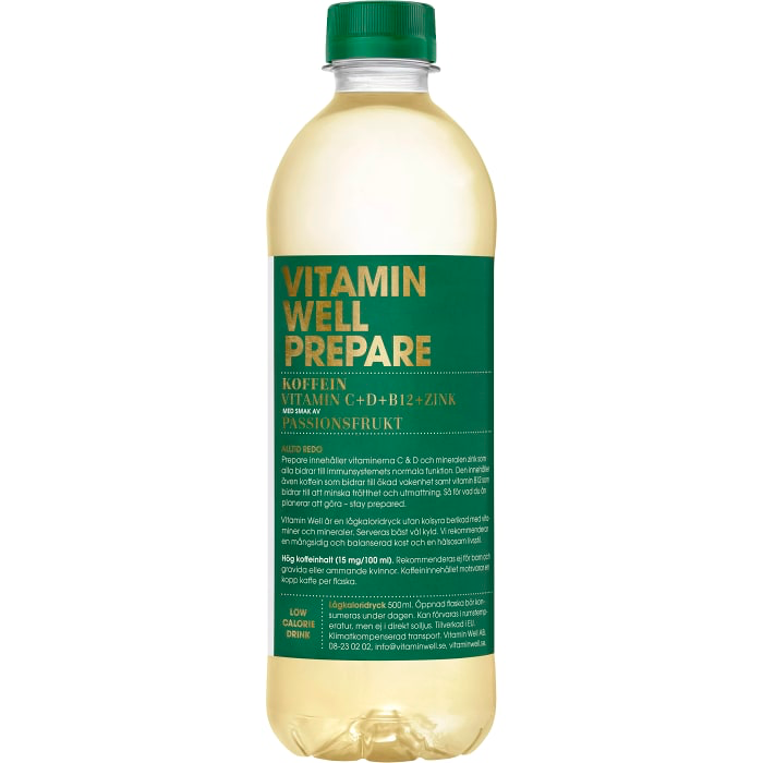 Vitamin Well Prepare 50cl