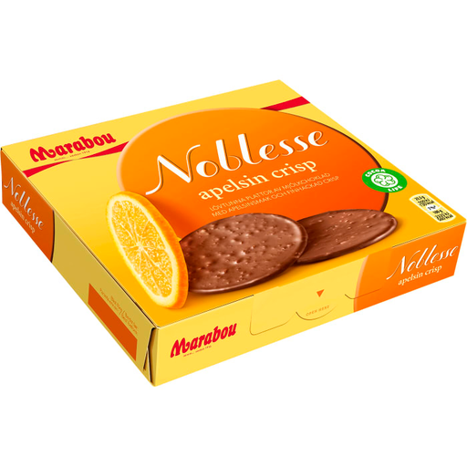 Marabou Noblesse Apelsin Crisp - Milk Chocolate with Orange Crisp 150g