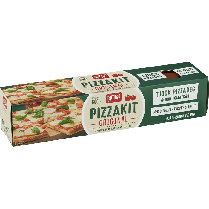 POP Pizzakit Original - 600g