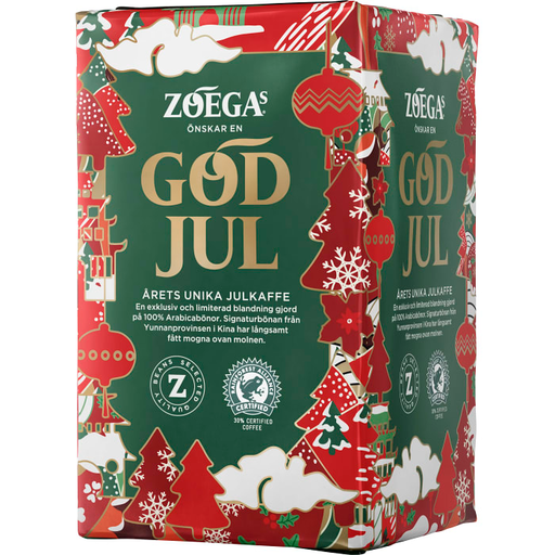 Zoegas Julkaffe  - Ground Dark Roasted Ground Christmas Coffee 450 g