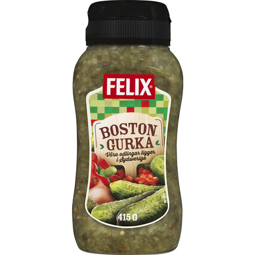 Felix Bostongurka - Pickled Cucumber Relish 415 g
