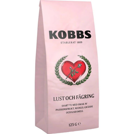 Kobbs Lust & Fägring Te - Black Flavoured Tea 125g
