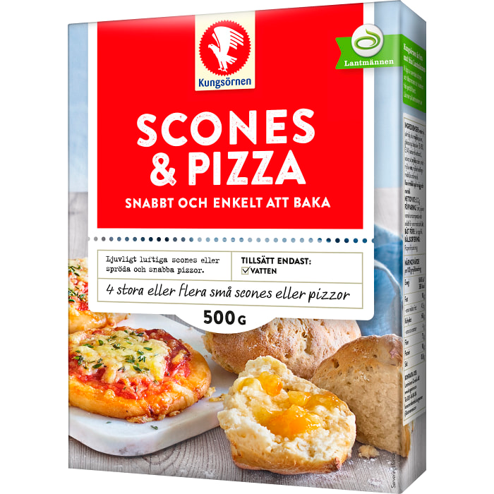 Kungsörnens Scones & Pizza Mix 500g