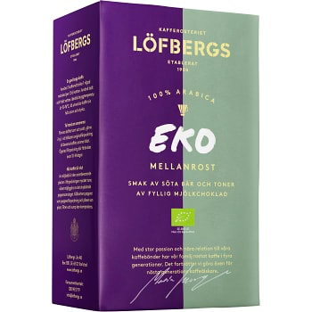 Löfbergs Lila Mellanrost - Medium roast brew coffee 450 g