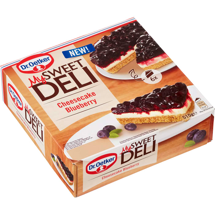 Dr Oetker Sweet Deli Cheescake Blueberry - 515g