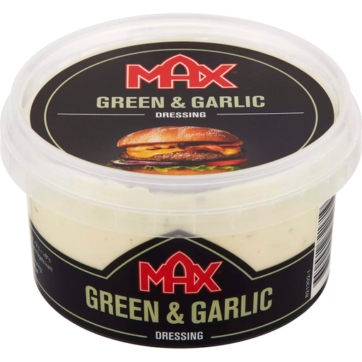 MAX Hamburger Dressing Green & Garlic 220 ml