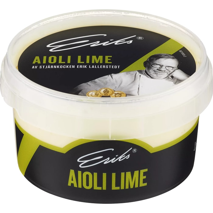 Eriks Aioli Lime Sauce 230 ml