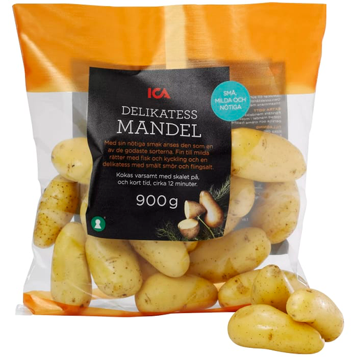 Svensk Mandelpotatis - Swedish Almond Potatoes 900g